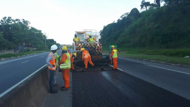 Diversas obras estão sendo realizadas na BA-526 - Foto: Divulgação   Bahia Norte