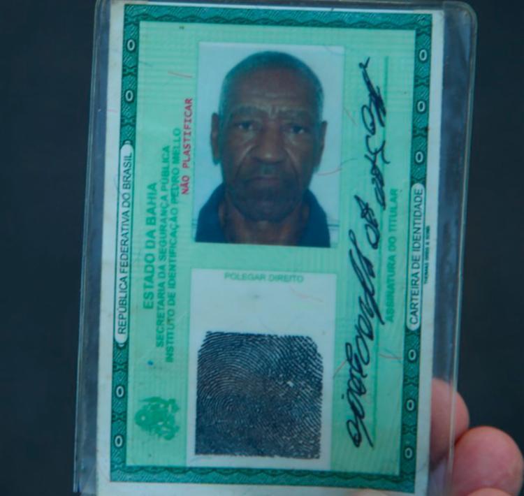 Vítima foi identificada como João Evangelista dos Santos, 67 anos