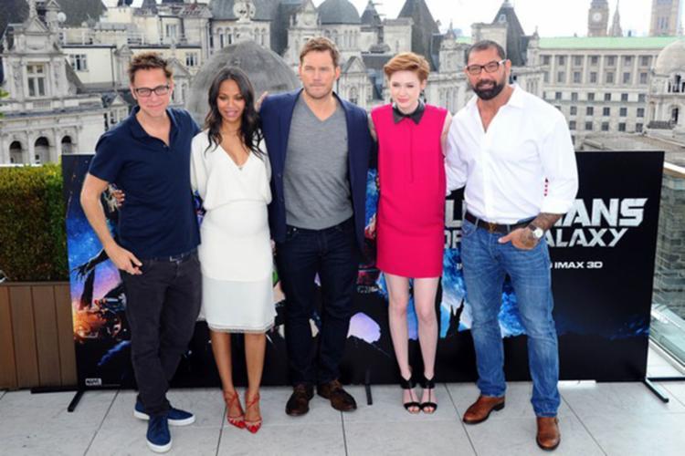 O elenco do filme usou as redes sociais para se posicionarem - Foto: Reprodução | Getty Images
