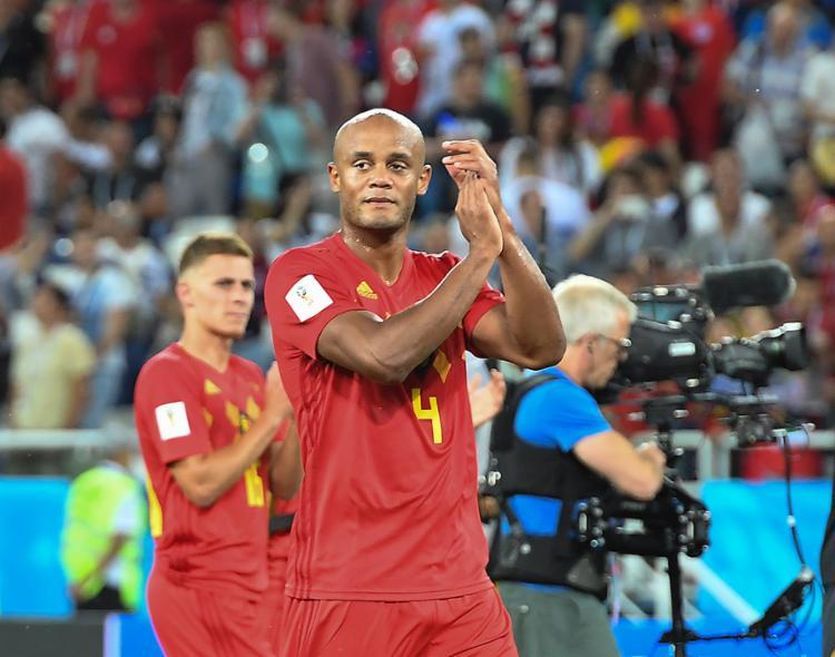 O capitão belga disse que gostaria de enfrentar a Seleção Brasileira na final da Copa - Foto: Attila Kisbenedek l AFP