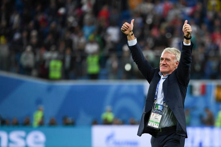 O treinador elogiou seus jogadores após vencer a Bélgica - Foto: Paul Ellis | AFP