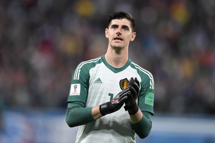 O goleiro belga criticou a seleção francesa após a derrota - Foto: Gabriel Bouys   AFP
