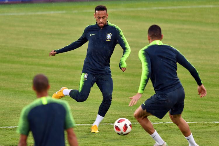 No ataque da Seleção, as atenções seguirão focadas em Neymar - Foto: Luis Acosta | AFP