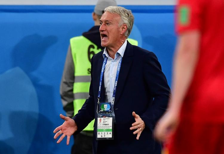 O técnico francês lembrou a derrota na final da Eurocopa para Portugal - Foto: Giuseppe Cacae | AFP