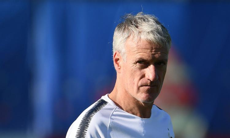 O comandante dos Bleus pode se tornar o terceiro campeão da Copa do Mundo como jogador e treinador - Foto: Franck Fife   AFP