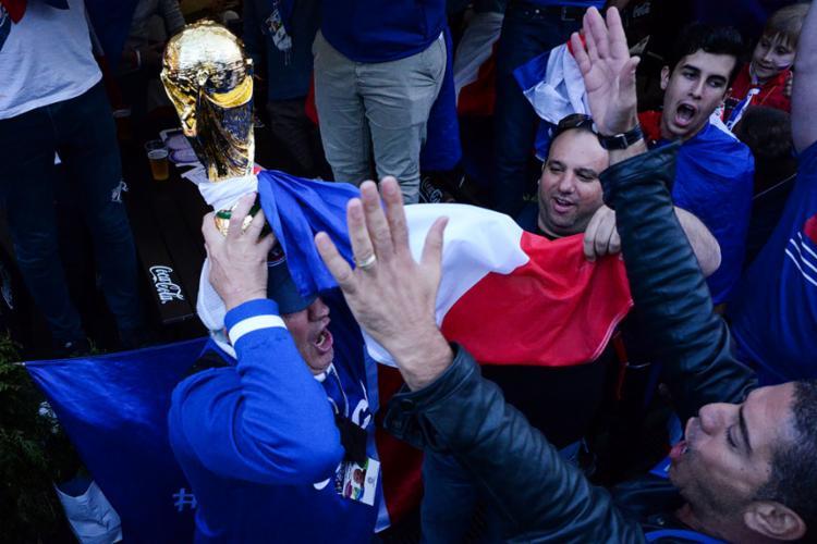 A França chega à decisão como a grande favorita ao título - Foto: Kirill Kudryavtsev | AFP
