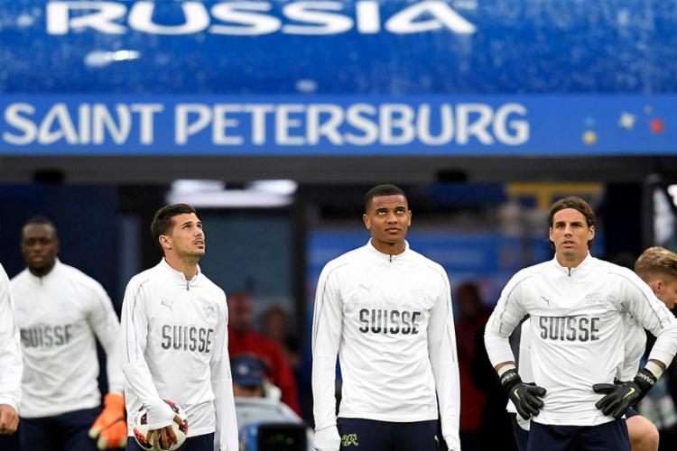 A Suíça não chega às quartas desde a Copa de 1954 e tentará quebrar o tabu - Foto: Gabriel Bouys | AFP