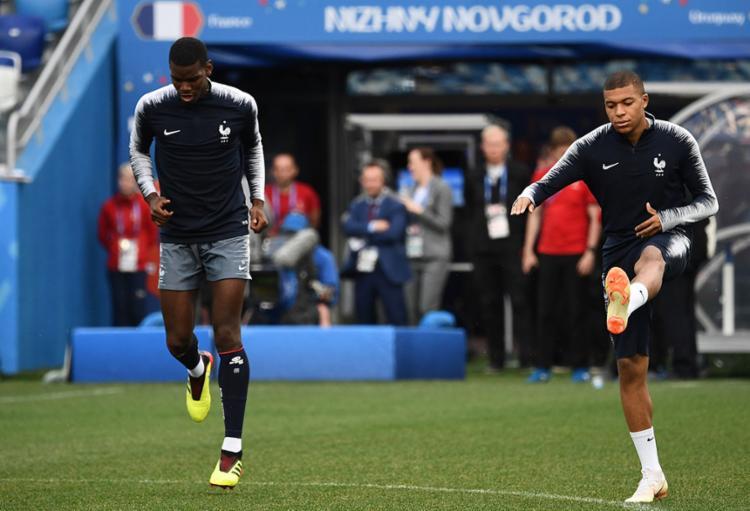 França contará com suas jovens estrelas para conseguir a classificação - Foto: Franck Fife   AFP