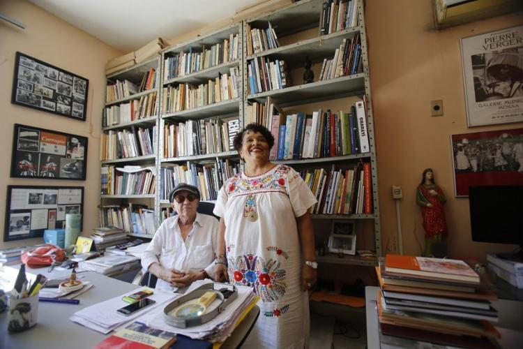 As editoras Arlete Soares e Rina Angulo comandam a Corrupio,que fará 40 anos em 2019 - Foto: Margarida Neide / Ag. A TARDE