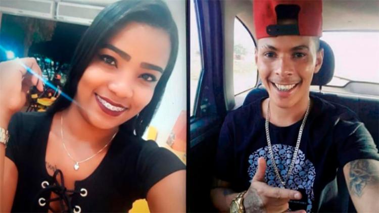Karollayne e Breno teriam discutido momentos antes da jovem ser atingida por tiros - Foto: Reprodução | Site Sudoeste Bahia