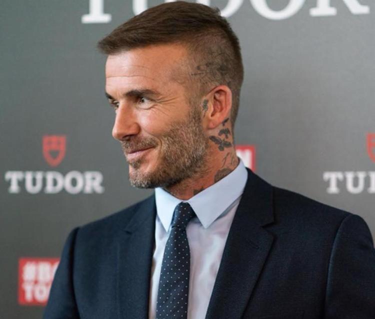 O ex-capitão da seleção inglesa recebeu seus fãs em Miami para acompanhar a semifinal - Foto: Reprodução | Facebook