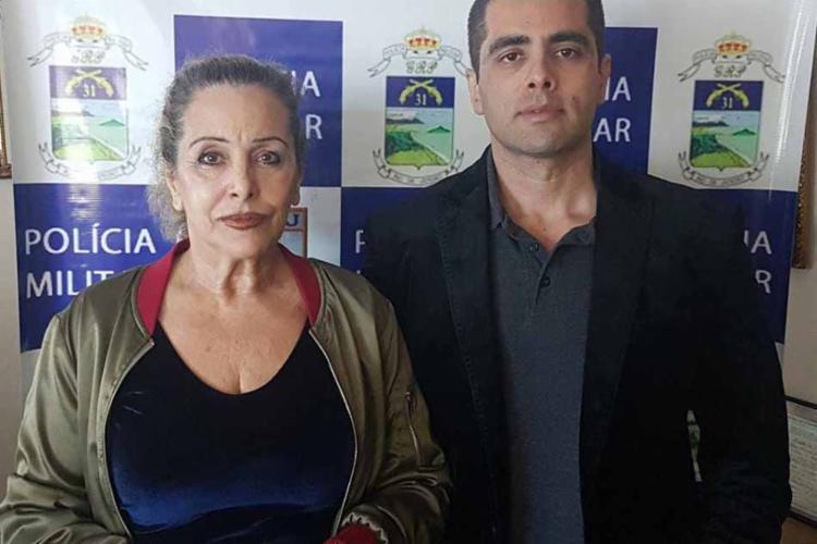 Os dois foram presos na tarde de quinta-feira, 19 - Foto: Divulgação | PMRJ