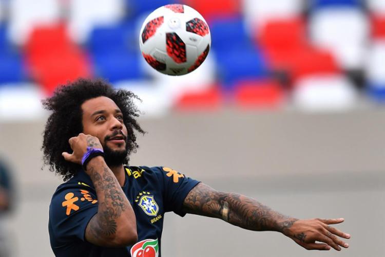 Marcelo teve a contusão confirmada pelo clube espanhol na sexta-feira - Foto: AFP
