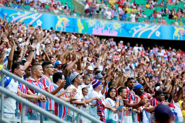 O esquadrão contará com o apoio do seu torcedor na decisão do torneio regional - Foto: Felipe Oliveira   EC Bahia