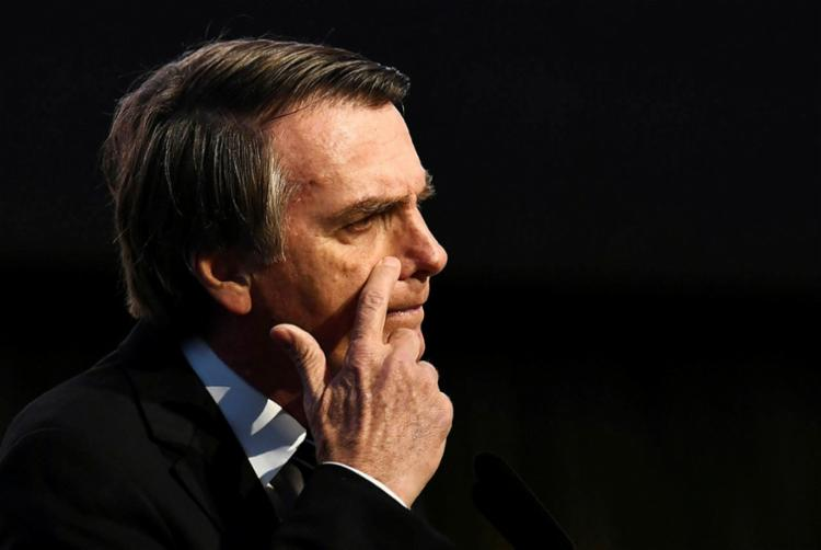 Bolsonaro pode optar por uma chapa puro-sangue com um nome do próprio PSL na vice - Foto: Evaristo Sá   AFP