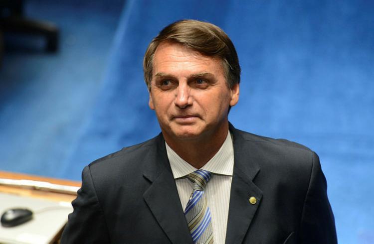 Bolsonaro afirmou que não participa das conversas de aproximação entre o PSL e o MDB no Pará - Foto: Antonio Cruz | Agência Brasil