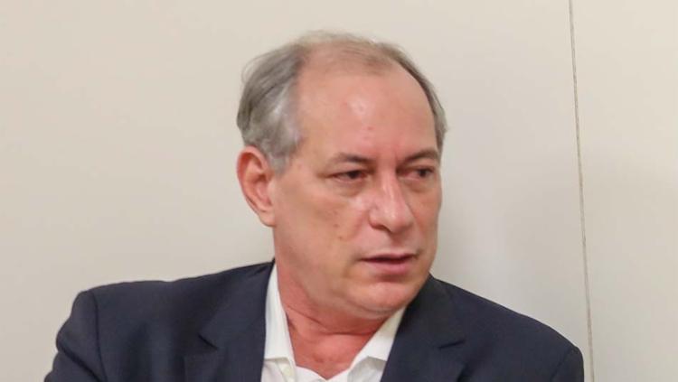 Ciro minimizou as vaias e criticou as perguntas dos jornalistas e os aplausos para Bolsonaro - Foto: Ricardo Stuckert | Instituto Lula