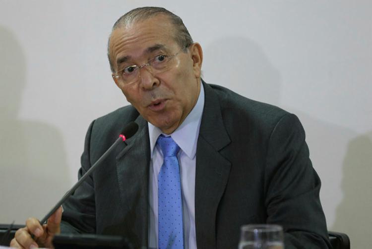 Meirelles tem feito sua pré-campanha divulgando ações econômicas à frente do Ministério da Fazenda - Foto: Antonio Cruz | Agência Brasil