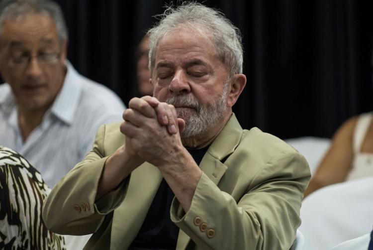 Haddad visitará o ex-presidente Luiz Inácio Lula da Silva na prisão, em Curitiba - Foto: Nelson Almeida | AFP