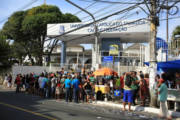 A maioria dos procedimentos abertos se refere a compra de voto - Foto: Joá Souza | Ag. A TARDE | 02.10.2016