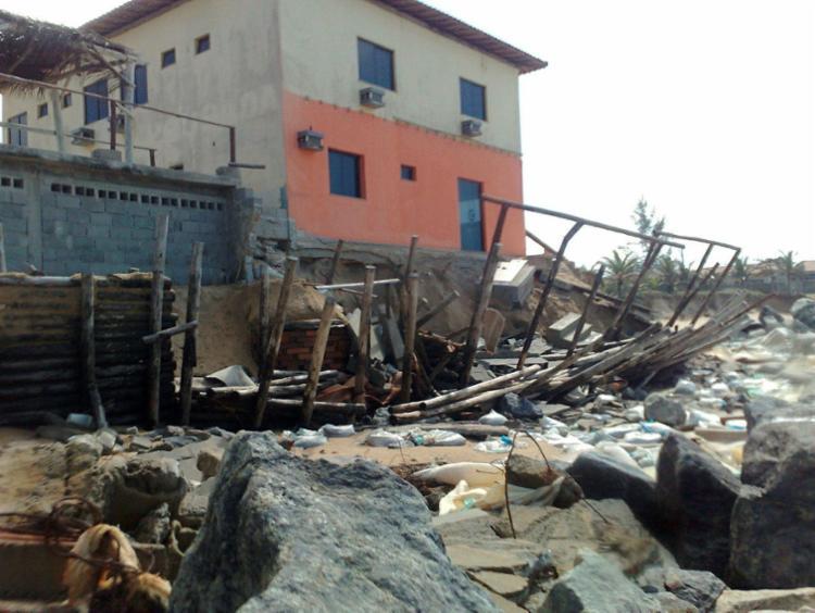 Erosão preocupa moradores da região | Foto: Ascom Cordec | Divulgação