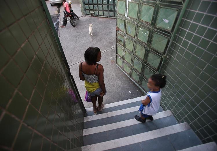 Escola na Liberdade funciona com dez dos 25 professores - Foto: Luciano Carcará l Ag. A TARDE