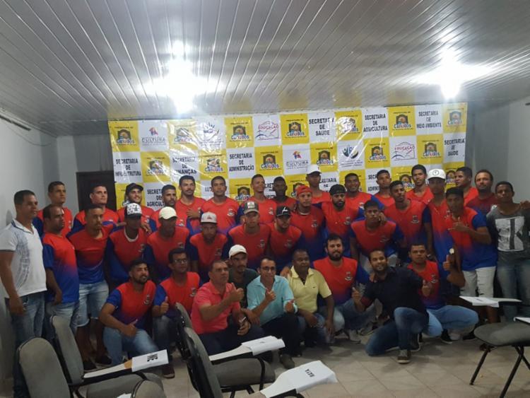 ob o comando do treinador Laion Felipe Campos, o time estreia no dia 12 de agosto no campeonato, que tem início no dia 5 de agosto, - Foto: Divulgação
