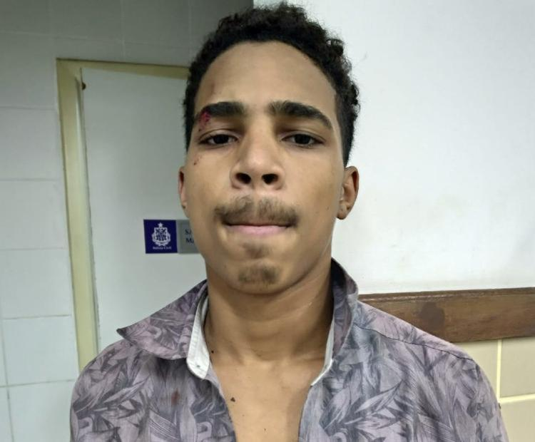 Valdir Henrique foi flagrado com carro roubado na avenida Garibaldi - Foto: Divulgação | SSP