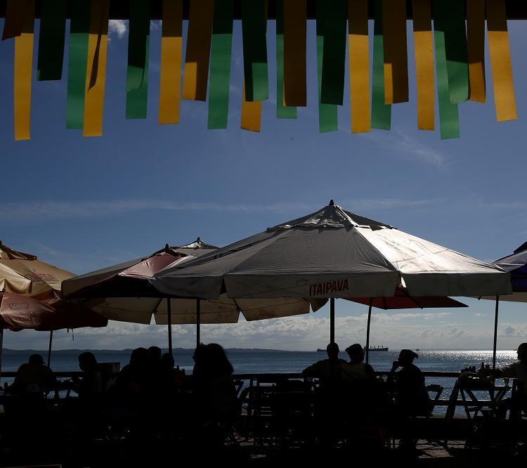 Além dos restaurantes, nova ala tem visão para o mar