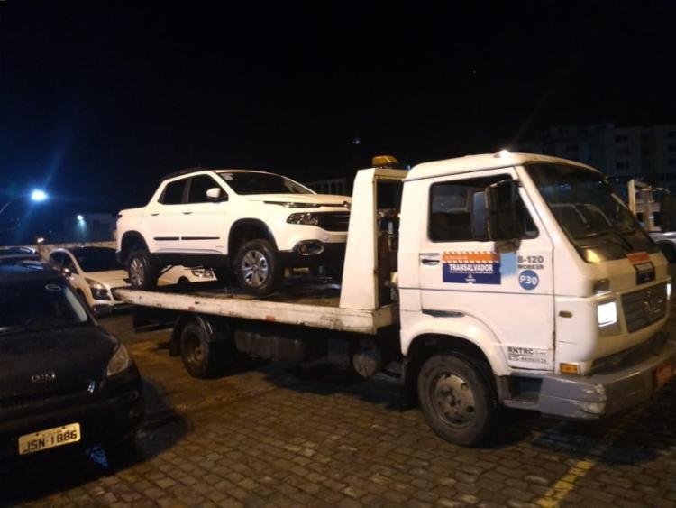 Automóveis foram abandonados no local - Foto: Divulgação | SSP