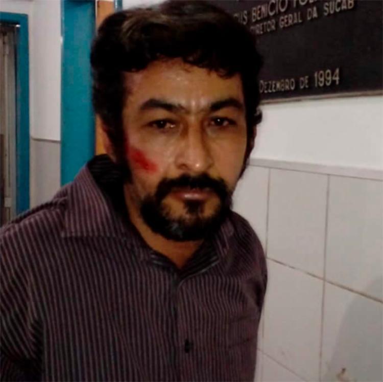 Gilmar foi recapturado horas depois | Foto: Reprodução | Site Aragão Noticias