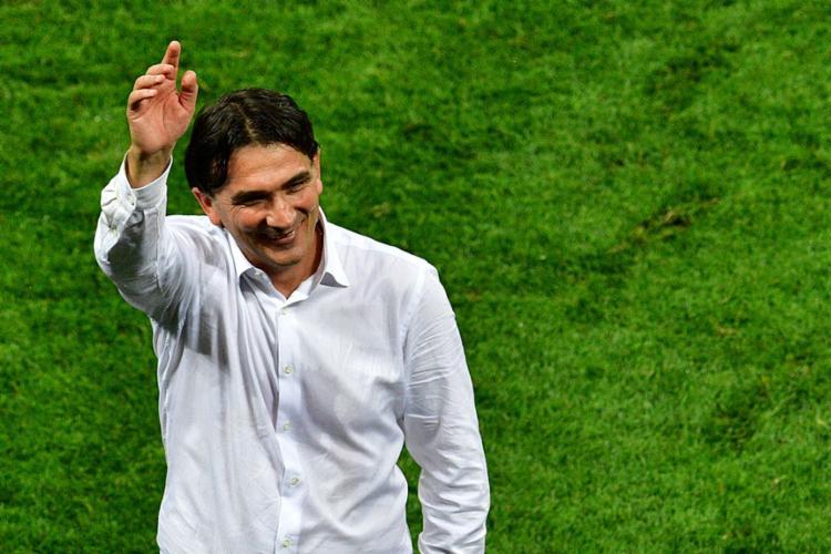 Zlatko Dalic se mostrou orgulhoso após vitória da Croácia em cima da Inglaterra - Foto: Mladen Antonov | AFP