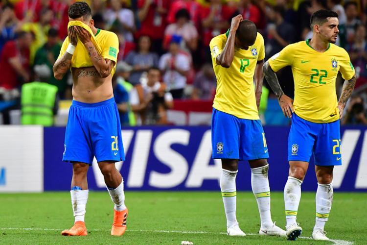 Mesmo com um segundo tempo de maiores chances, o Brasil não conseguiu vencer a Bélgica - Foto: Luis Acosta | AFP