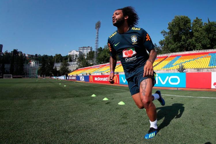 Marcelo não poderá atuar contra o México - Foto: Lucas Figueiredo | CBF
