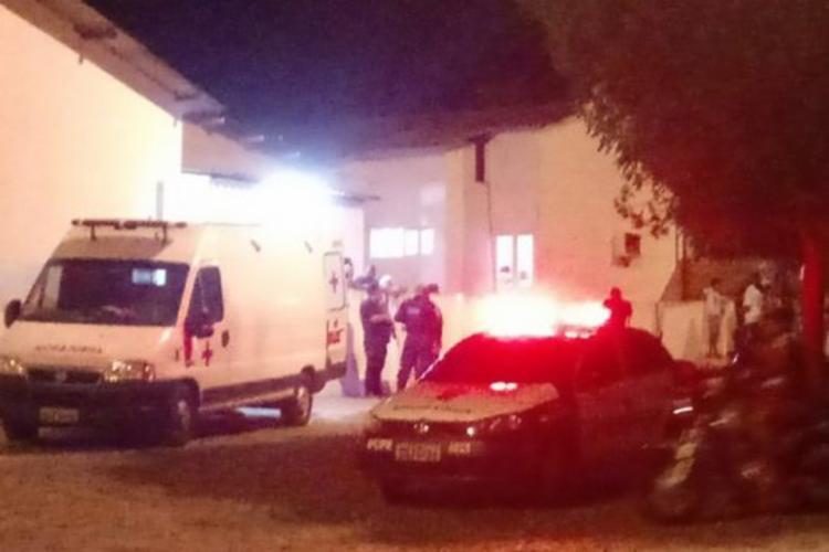 A polícia foi chamada para terminar com o barulho no local - Foto: Reprodução | Itapagipe Online