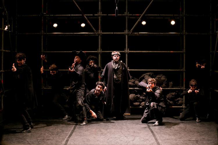 O elenco do espetáculo-instalação Grande Sertão Veredas - Foto: Annelize Tozetto l Divulgação