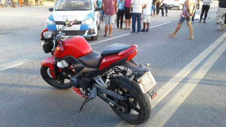 Vítima foi atingida quando tentava atravessar a rodovia - Foto: Aldo Matos | Acorda Cidade