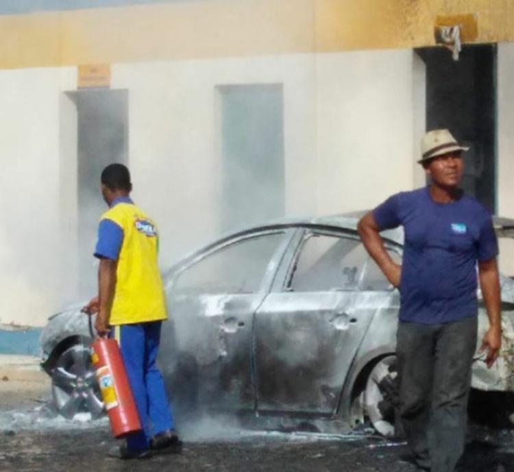 As causas do incêndio estão sendo investigadas - Foto: Reprodução | Cidadão Reporter