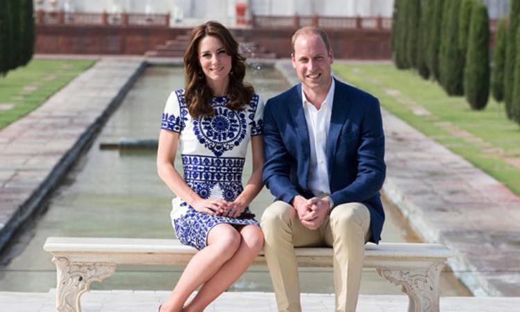 Príncipe William e Kate Midletton promovem um chá particular - Foto: Divulgação