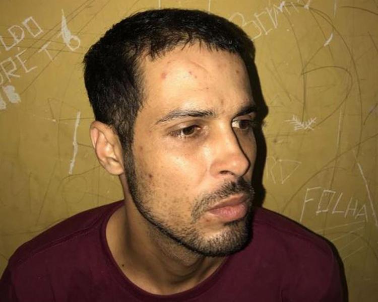Iuri botou fogo no carro da namorada e acabou na prisão - Foto: Divulgação l Polícia Civil