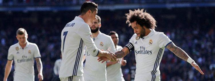 Marcelo e Cristiano passaram quase 10 anos jogando lado a lado - Foto: Reprodução | Real Madrid