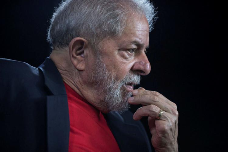Habeas corpus foi apresentado por um advogado de fora da defesa de Lula - Foto: AFP PHOTO   Nelson ALMEIDA