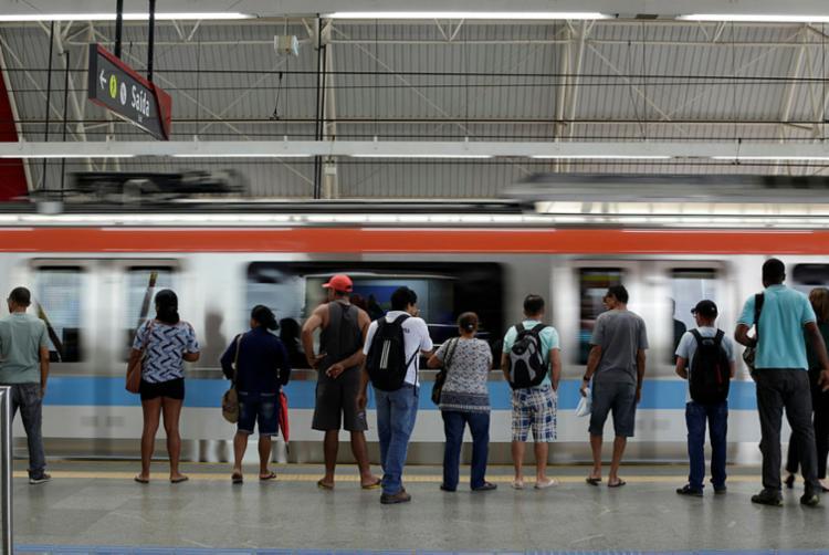 Intervalo entre trens será de até 20 minutos - Foto: Raul Spinassé | Ag. A TARDE