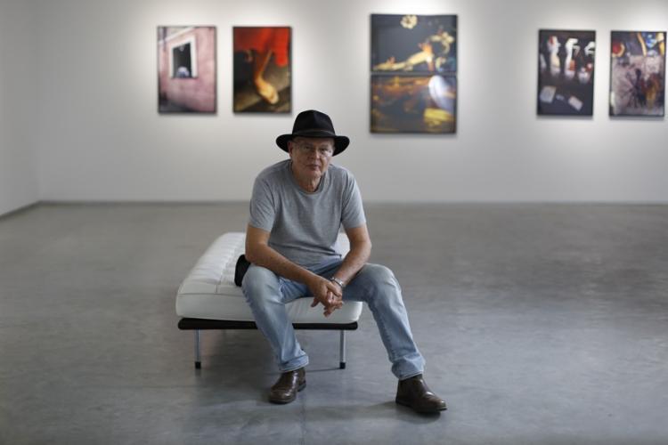 O artista esteve em Salvador para a inauguração da exposição Cabisbaixo no Paraíso - Foto: Raul Spinassé / Ag. A TARDE