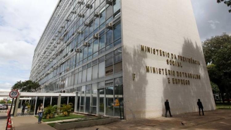 Duas salas do edifício sede do Ministério foram invadidas durante o fim de semana - Foto: Divulgação