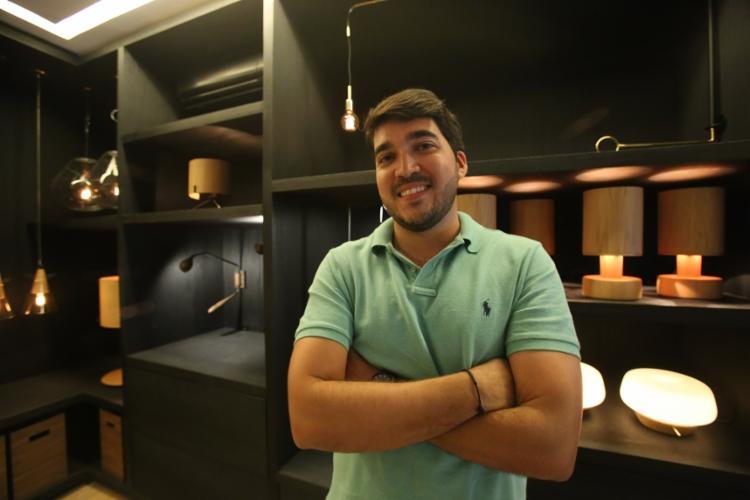 O arquiteto Márcio Tanajura, 30, é um dos nomes da mostra Casas Conceito