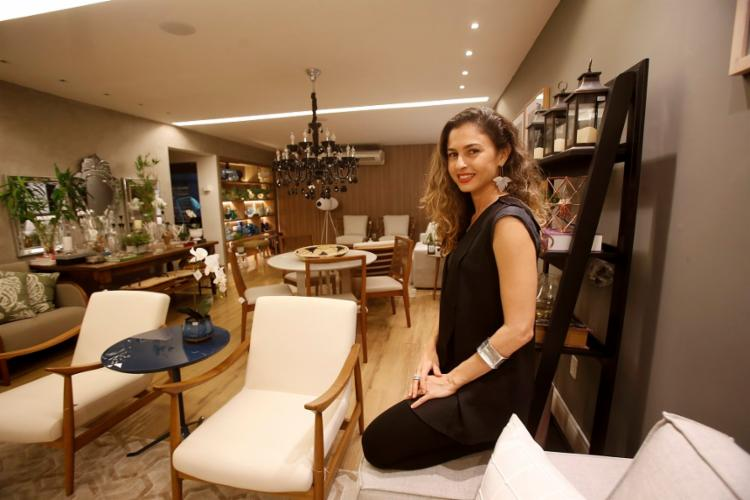 Arquiteta, Sâmia Moura é especializada em design de interiores