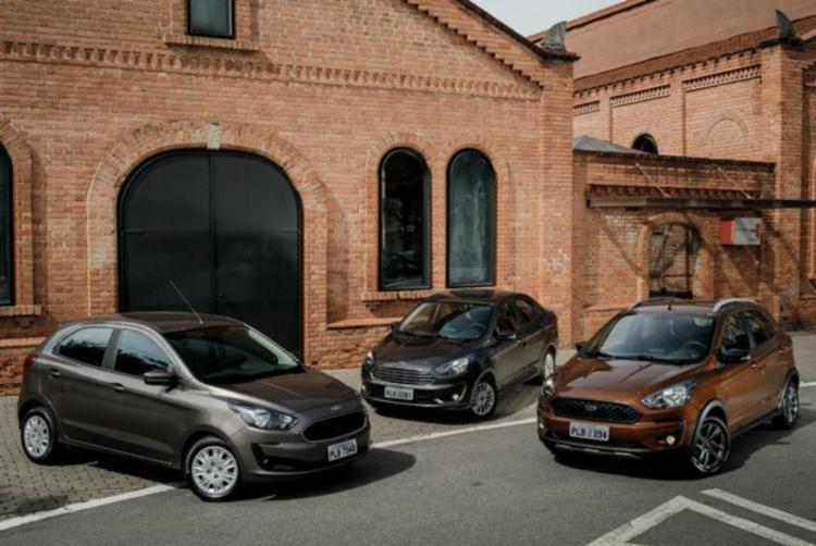 Preços patem de R$ 45.490 para o hatch e de R$ R$ 49.490 para o Ka Sedan. - Foto: Divulgação