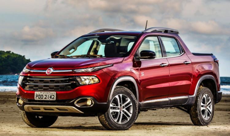 Fiat Toro é o comercial leve mais vendido do mês de Junho