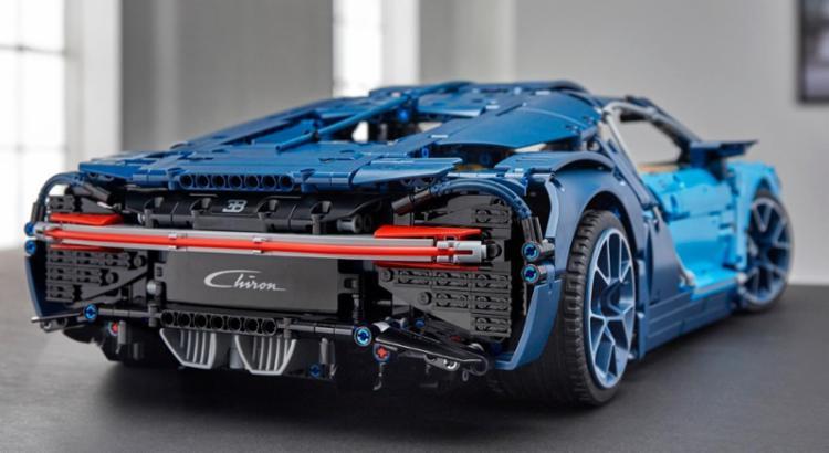 Bugatti Chiron tem versão reduzida, 3,599 peças e preço de R$ 1,3 mil - Foto: Divulgação